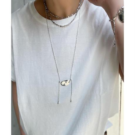 Cast motif slider necklace