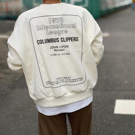COLUMBUS logo sweat