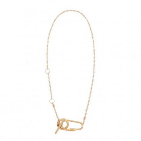 Carabiner motif necklace