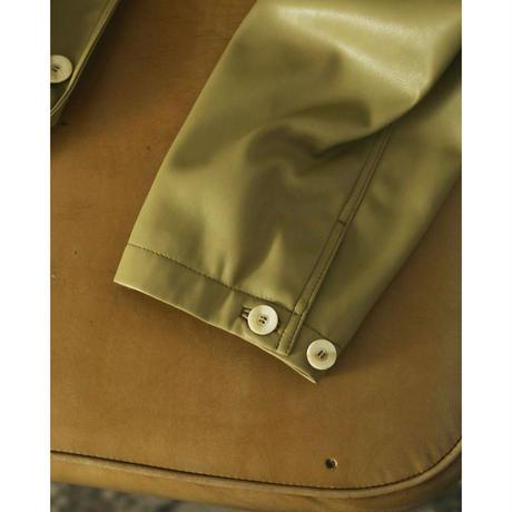 【御予約】Ecoleather Over Jacket