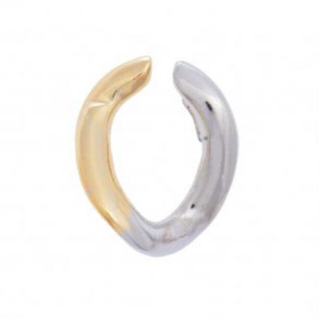 Triangle chain Ear cuff【MIX】