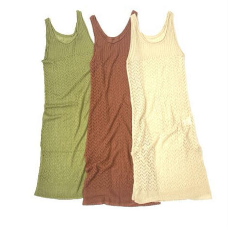 Knitting Camisole Onepiece