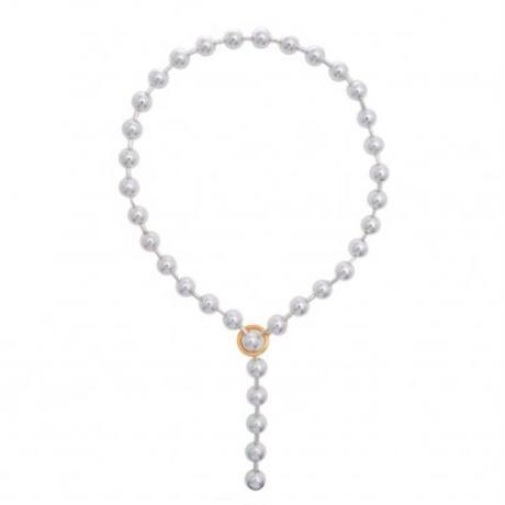 Twelve ball Chain necklace