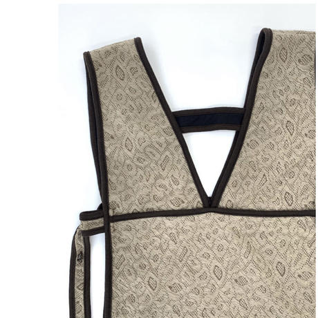 Piping Jacquard Bustier