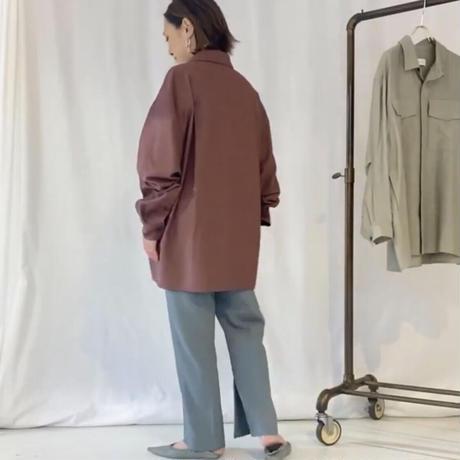【御予約】クレセントスリーブシャツ
