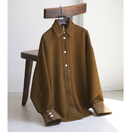 【御予約】Stitch Wool Shirts