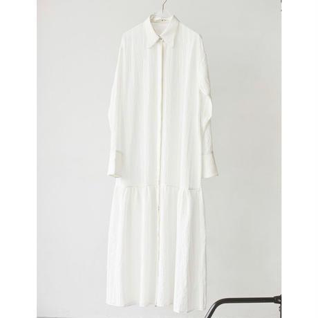 【御予約】Sheerstripe Shirts Dress