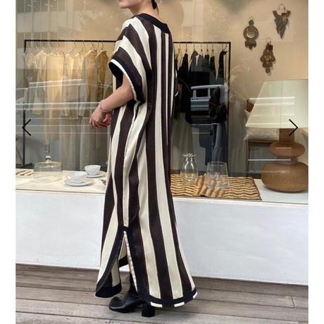 Stripe Caftan Dress
