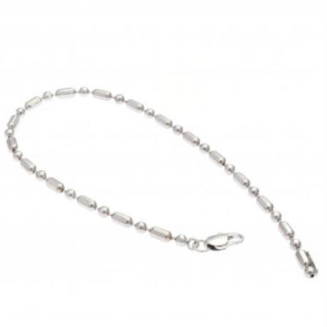 Random cut ball chain bracelet