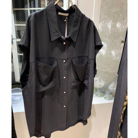 【御予約】加工スリーブレスシャツ