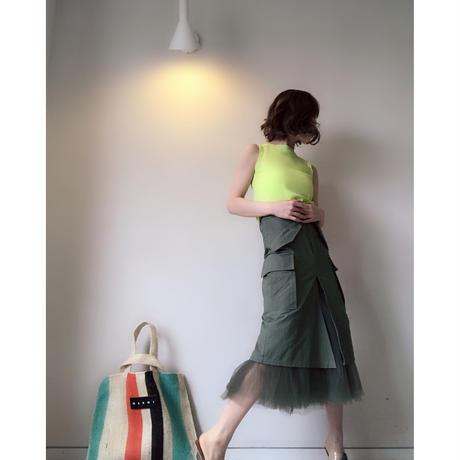 ミリタリーチュールスカート
