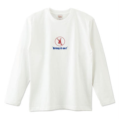 "Kvin. Playground ‎– ""Bring it on!"" L/S Tee"
