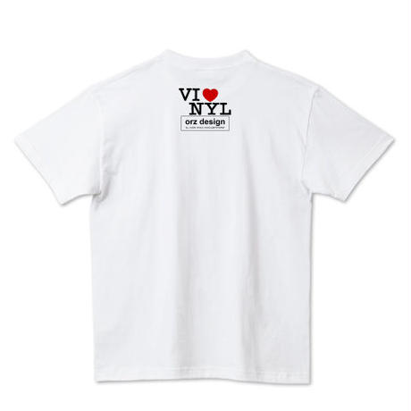 "orz design ‎– ""I LOVE VINYL"" Tee"