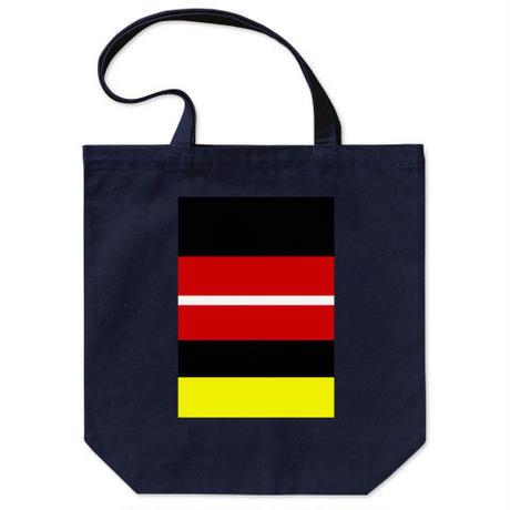 "Kvin. Playground – ""MM Stripe"" Tote Bag"
