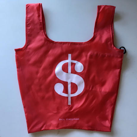 "Kvin. Playground ‎– ""Dollar"" Bag (RED / BLUE)"