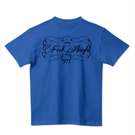 "Kvin. Playground ‎– ""Feel Alright"" Tee"