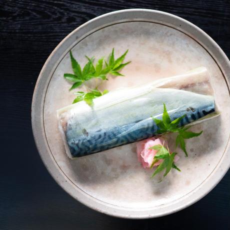 京蕪庵 特製 鯖寿司1本