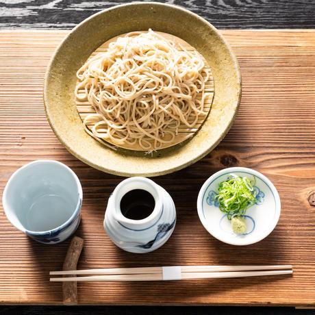 京北産 十割ざるそば(生蕎麦+お出汁+薬味)