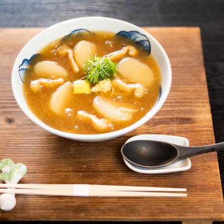 冬限定!京蕪庵名物 かぶらそば(生蕎麦+蕪みぞれ出汁+薬味)