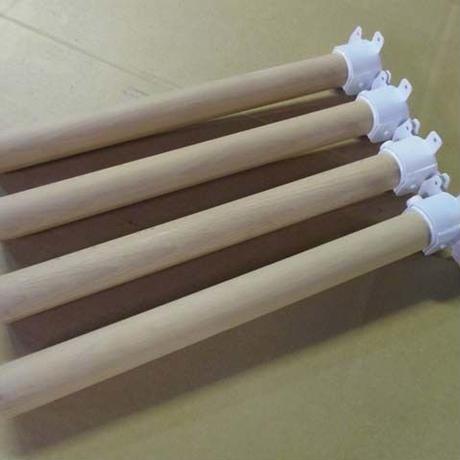 座卓用 折りたたみ脚 金具 1set(4本)