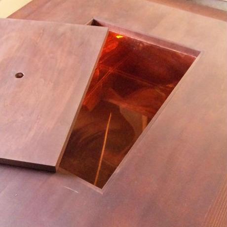 【置囲炉裏】オプション 銅火床