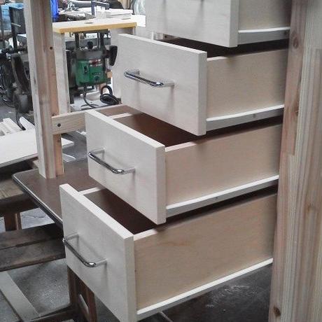 【組立式木製作業台】増設