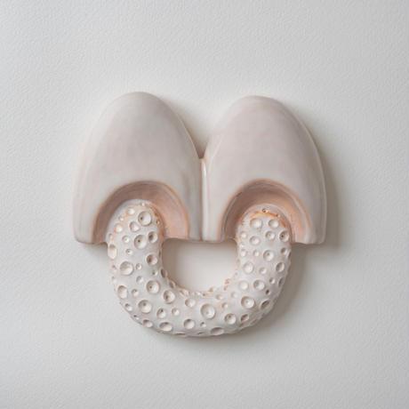 wall art white mushroom 08081
