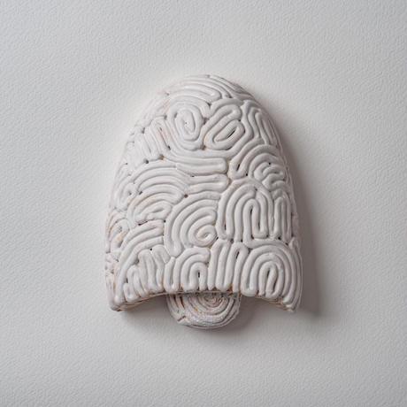 wall art white mushroom 08063