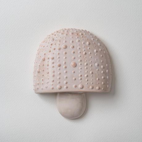 wall art white mushroom 08135