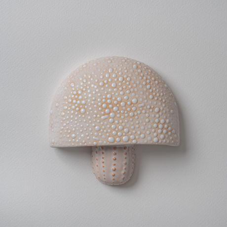 wall art white mushroom 08134
