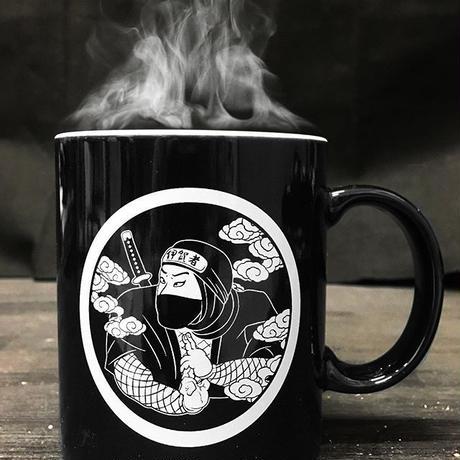 家紋忍者マグカップ(ホワイト)