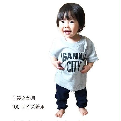 伊賀市・忍者市 ご当地 キッズTシャツ (レッド)