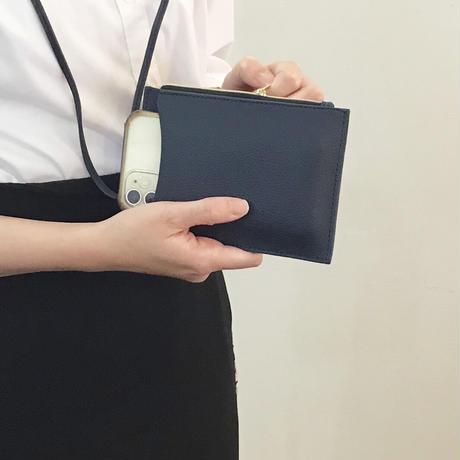 【滿額贈禮】兩用手機掛頸錢包  WALLET NECKLACE