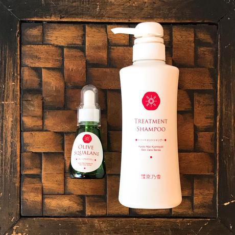 護髮洗髮精 Treatment Shampoo&橄欖精華油 Olive Squalane