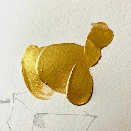 KYOTARO 天の番犬 T-SHIRT    S size (限定数9枚)絵付きシリアルナンバー サイン入りカード&ポストカード付き
