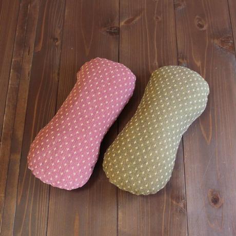 平型低反発腰枕(絣刺子)