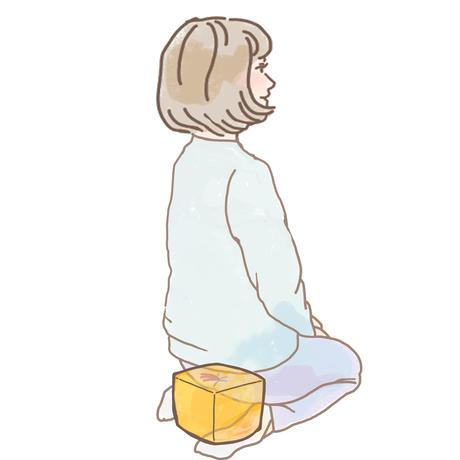 サイコロ枕・大(ビー玉)