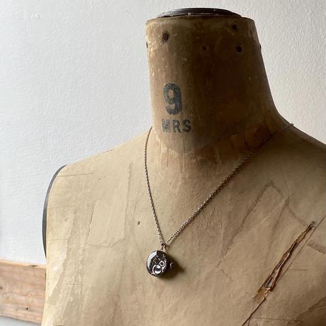 "antique dial&movement reversible necklace ""seikosha""【K0539】"