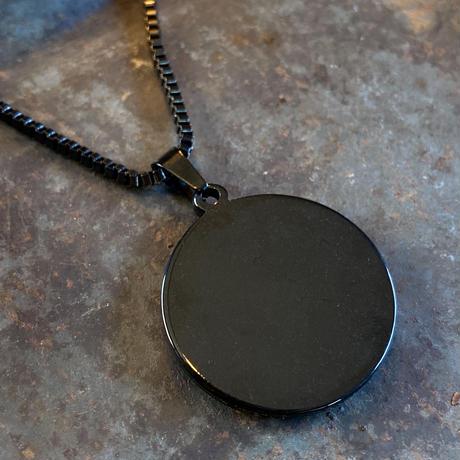 CLOPOA BLACK standard necklace orange【K0576】