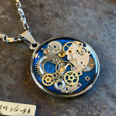 CLOPOA standard necklace  romantic blue【K0573】