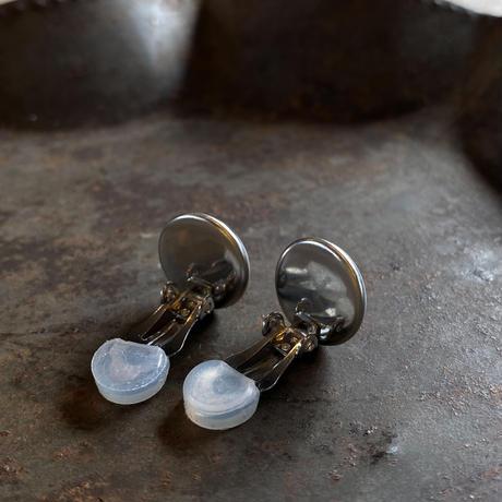 CLOPOA standard earrings metallic red【K0550】