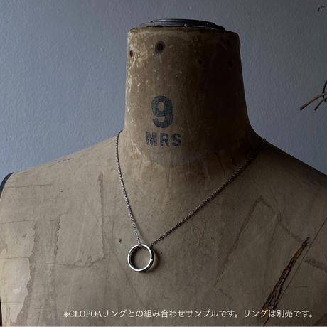 9時5分の歯車 original plain chain(サージカルステンレス)【K0583】