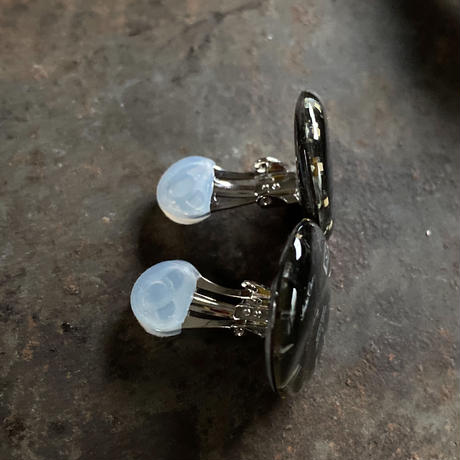 antique color dial earrings 【K0570】