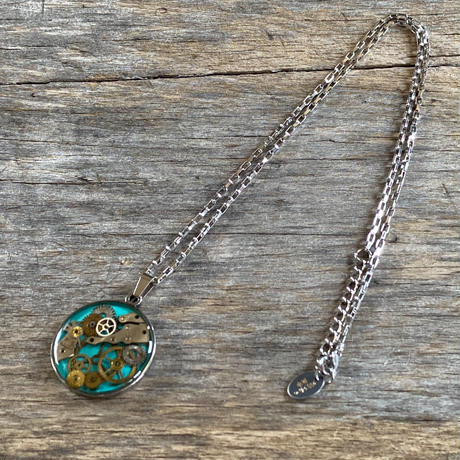 CLOPOA standard necklace turquoise