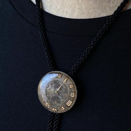 antique damage dial loop tie【K0502】