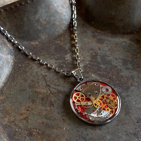 CLOPOA standard necklace metallic red【K0542】