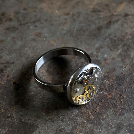 CLOPOA round petit ring silver #14【K0587】