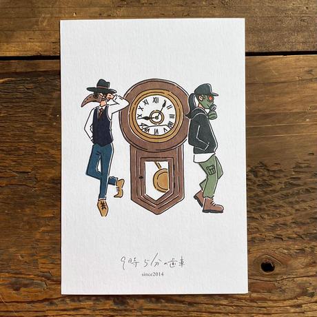 """9時5分の歯車×HARUKA FUKUSHI """"STYLES"""" ポストカード"""