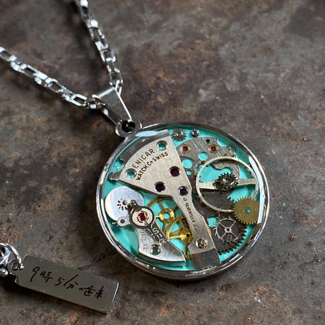 CLOPOA standard necklace turquoise【K0581】