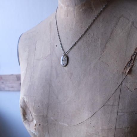 antique dials necklace